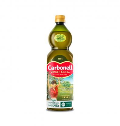 ACEITE CARBONELL VIRGEN TRIANGULAR 1 LTS
