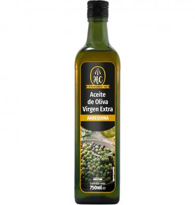 ACEITE HC VIRGEN ARBEQUINA 750 CL