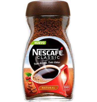 Comprar cafe soluble nescafe classic natural 200 g caf - Marcas de te ...