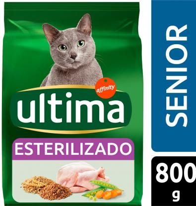 Comprar comida gato ultima esterilizados senior 800 g - Alimento para gatos esterilizados ...