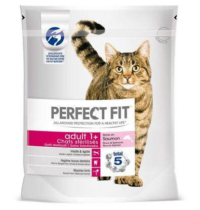 SECO  GATO PERFECT FIT SALMÓN 1.4 KG