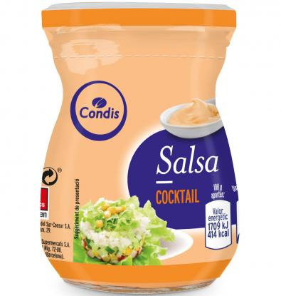 SALSA CONDIS COCKTAIL 225 G