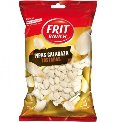 PIPA FRIT RAVICH CALABAZA TOST. 75 G