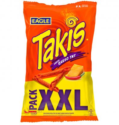 SNACKS TAKIS QUESO XXL 150 G