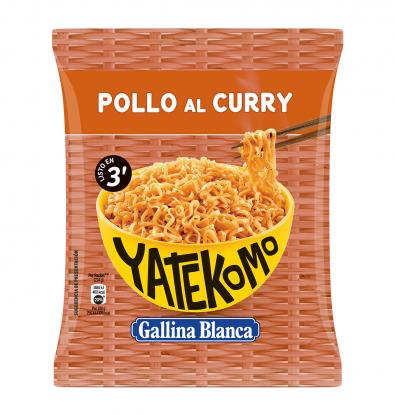YATEKOMO GALLINA BLANCA POLLO AL CURRY 79 G