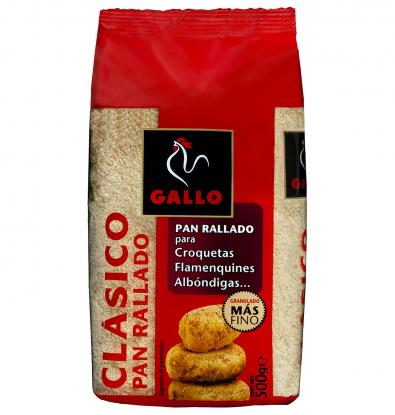 PAN GALLO RALLADO 500 G