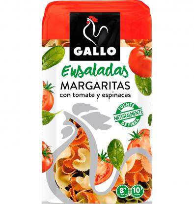 PASTA GALLO MARGARITAS VEGETALES 450 G