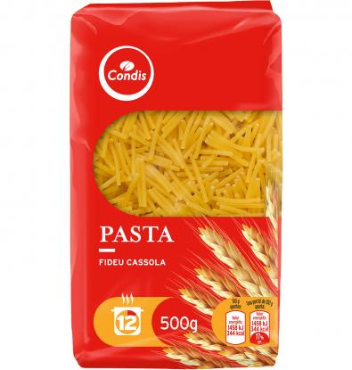 PASTA CONDIS FIDEO CAZ. N 4 500 GRS