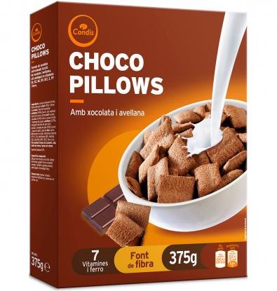 CEREALES CONDIS CHOCO PILLOWS 375 G