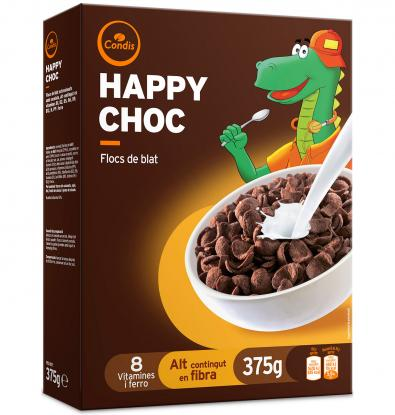 CEREALES CONDIS HAPPY CHOC 375 G