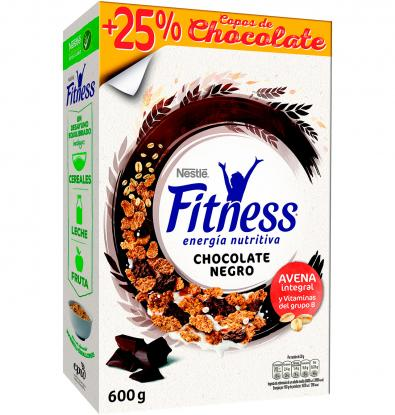 CEREALES NESTLÉ FITNESS CHOCOLATE NEGRO 600 G