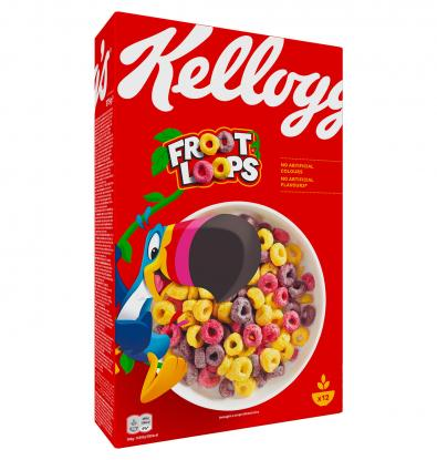 CEREALES KELLOGG'S FROOT LOOPS 375 G