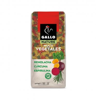 HELICES GALLO NATURE VEGETAL 400 G