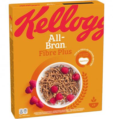 CEREALES KELLOGG'S ALL BRAN PLUS 375 G