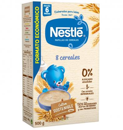 PAPILLA NESTLE MULTICEREALES 500 G