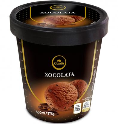 HELADO CONDIS CHOCOLATE 375 G