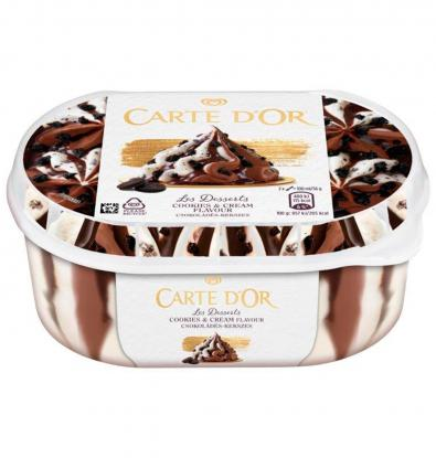 HELADO CARTE D'OR COOKIES&CREAM 900 ML