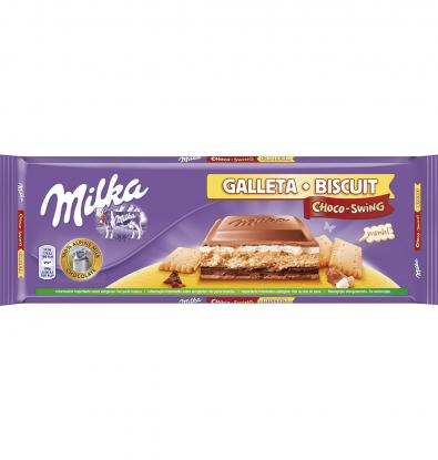 CHOCOLATE MILKA GALLETA 300 G