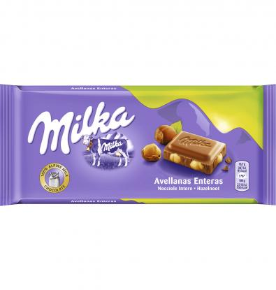CHOCOLATE MILKA AVELLANAS 125 G