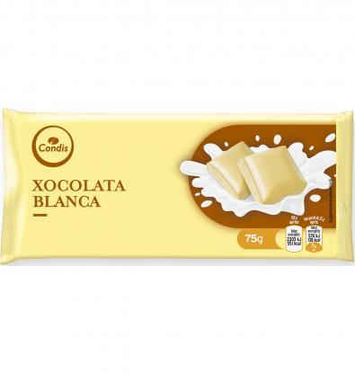 CHOCOLATE CONDIS BLANCO 75 G