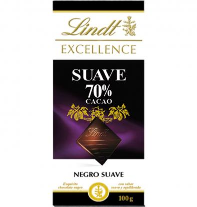 CHOCOLATE LINDT SUAVE EXCELLENCE 70% 100 G