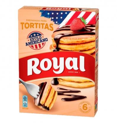 TORTITAS ROYAL PREPARADO 120 G