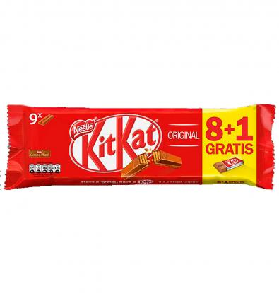 CHOCOLATE NESTLE KIT KAT 8+1 186 G