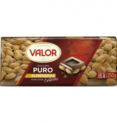 CHOCOLATE VALOR PURO ALMENDRA 250 G
