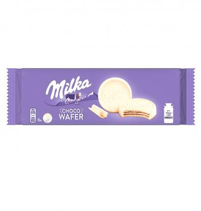 GALLETAS MILKA WAFFER BLANCO 180 G