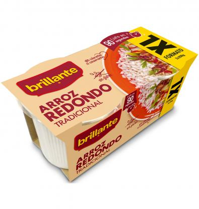 ARROZ BRILLANTE REDONDO XL VA. 2 UNI