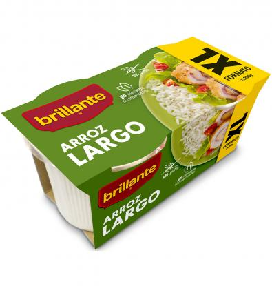 ARROZ LARGO BRILLANTE FORMATO XL 2 X 200 G