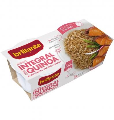 ARROZ BRILLANTE INT/QUINOA 2 UNI