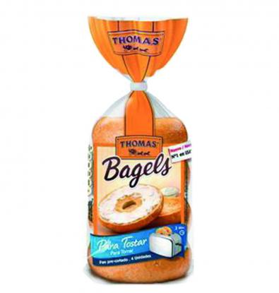 PAN BIMBO THOMAS BAGELS 4 UNI