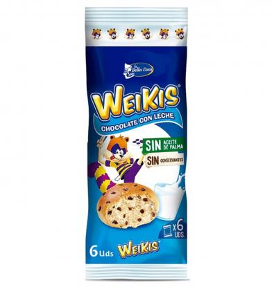 WEIKIS BELLA EASO CHOCOLATE CON LECHE 250 G