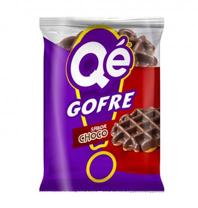 QE! GOFRE CHOCOLATE 120 G