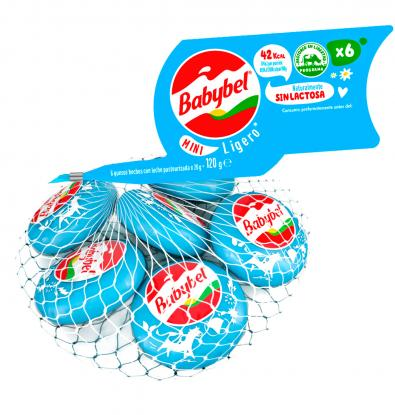 FORMATGE MINI BABYBEL LIGHT 6 X 120 G