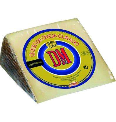 QUESO D.M. PURO OVEJA CUÑA 250 G