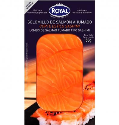 FILET ROYAL SALMÓ FUMAT 50 G