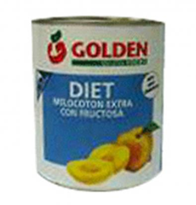 MELOCOTON GOLDEN FOODS FRUCTOSA F/A 480 G