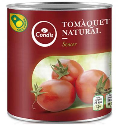 TOMATE CONDIS NATURAL 480 G