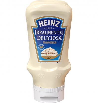 MAYONESA HEINZ DELICIOSA PET 400 G