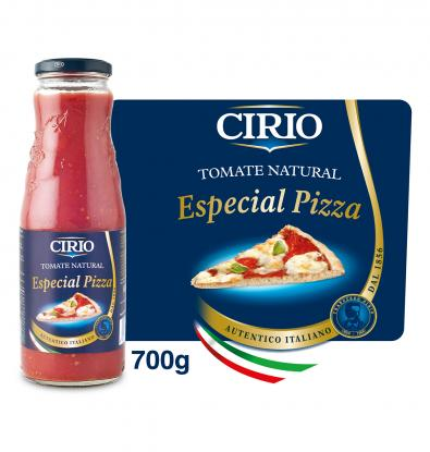 TOMATE NATURAL CIRIO ESPECIAL PIZZA 680 G