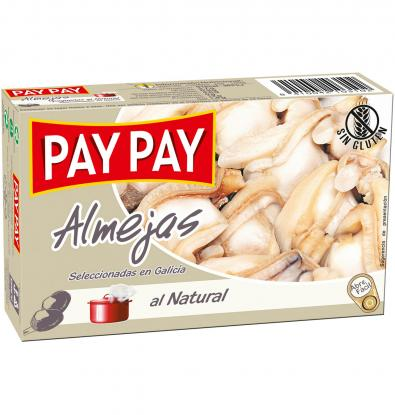 ALMEJAS PAY-PAY AL NATURAL 63 G