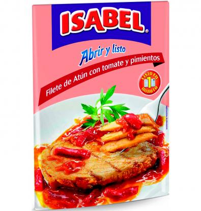 FILETE ISABEL ATUN TOMAT/PI 150 G