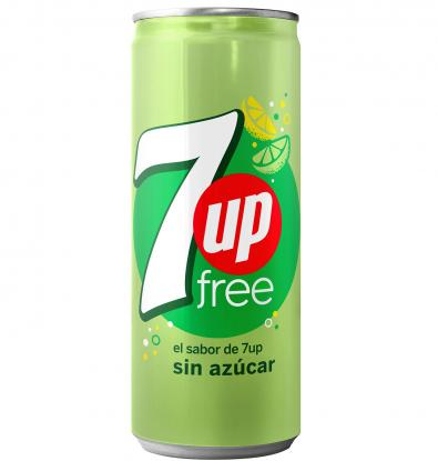 REFRESCO SEVEN UP FREE LATA 33 CL