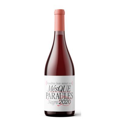 Comprar vino tinto mes que paraules 75 cl vinos tintos en condisline - Mes que paraules tinto ...