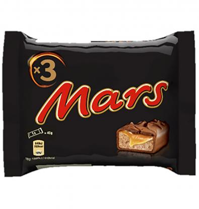 MARS MULTIPACK 3 UNIDADES 135 G