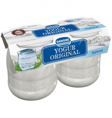 YOGUR DANONE ORIGINAL NATURAL 2 UNIDADES