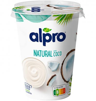 YOGUR ALPRO NATURAL CON COCO 500 G