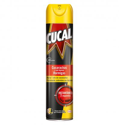 INSECTICIDA CUCAL AEROSOL 400 ML